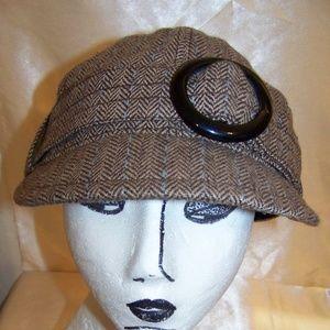 Goorin Bros ladies hat cabby newsboy cap size larg